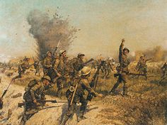 Battle of the Somme - Ulster Division.