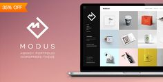 Modus - Portfolio WordPress Theme . Modus has features such as High Resolution: Yes, Widget Ready: Yes, Compatible Browsers: IE9, IE10, IE11, Firefox, Safari, Opera, Chrome, Edge, Compatible With: Bootstrap 3.x, Software Version: WordPress 4.6, WordPress 4.5.x, WordPress 4.5.2, WordPress 4.5.1, WordPress 4.5, WordPress 4.4.2, WordPress 4.4.1, WordPress 4.4, Columns: 4+