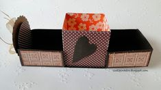 1 Exploding Box Card, Handmade Bags, Decorative Boxes, Crafty, Cards, Diy, Gifts, Scrapbooking, Creative Ideas