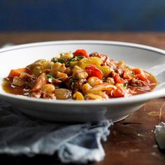 Hominy and Chorizo Chili From Better Homes and Gardens, ideas and improvement projects for your home and garden plus recipes and entertaining ideas.