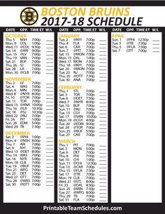 32 Amazing Nhl Hockey Schedule 2017 2018 Images Nhl Hockey Teams