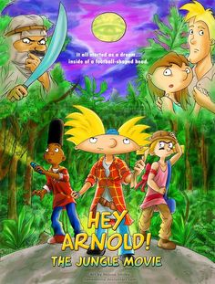 the jungle movie poster.