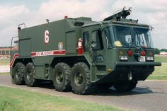 USAF Teledyne Continental Motors 8x8 P23 Crash Truck ★。☆。JpM ENTERTAINMENT ☆。★。