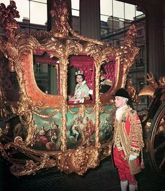 Queen Elizabeth II in the coronation coach on her way to be crowned at Westminster Abbey. She is dressed as a peeress of the realm and wears the Diadem crown. Get premium, high resolution news photos at Getty Images Royal Jewels, Crown Jewels, Isabel Ii, Her Majesty The Queen, Queen Of England, English Royalty, Prince Phillip, Queen Mother, Elizabeth Ii
