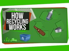 How Recycling Works by scishow: Join SciShow as we explore what happens to your stuff after you toss it into the little green bin with the arrows on it. Sources:Municpal Solid Waste Generation, Recycling, and Disposal in the United States The truth about recycling Single Stream Recycling Single-Stream Recycling How is Paper Recycled? How To Keep Beer from Getting Skunked What Can I Recycle? Recycling Plastics: Complications & Limitations Polymers
