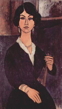 Amedeo Modigliani  Almaiisa Seated ca. 1916