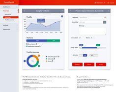 Flat Design or Flat UI Designing has been one of the most leading trends in web and user interface design. Check out the big list of free Flat PSD elements for Web UI design. Flat Design, Tool Design, Design Concepts, App Design, Flat Ui, Flat Icons, Dashboard Ui, Dashboard Design, News Web Design