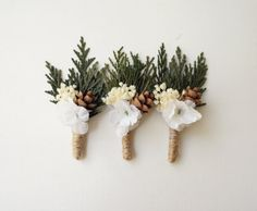 Woodland boutonniere, Woodland whimsy buttonhole for groom, Pinecone wedding boutonniere, Whimsical groomsmen pin, Rustic Buttonhole on Etsy, $12.00