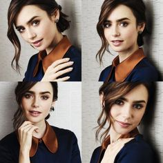"""16 UHQ Lily Collins - by Chris Pizzello - Portraits - The Associated Press 2016 November """