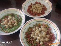 BÁJEČNÉ ODPALOVANÉ NOKY-VELMI JEDNODUCHÁ A RYCHLÁ PŘÍPRAVA Side Dishes, Beans, Vegetables, Recipes, Side Plates, Beans Recipes, Veggies, Vegetable Recipes
