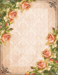 Free Printable Vintage Flower Tags ~ The tags are decorated with 2 red rose frames, a cherry blossom frame and red roses in vintage design. Description from pinterest.com. I searched for this on bing.com/images