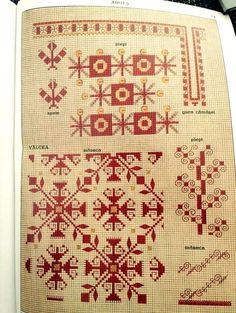 Costumul Romanesc - Румынский нар.. Folk Embroidery, Folk Art, Bohemian Rug, Diy And Crafts, Cross Stitch, Textiles, The Incredibles, Traditional, Pattern