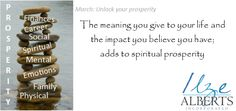 Spiritual prosperity