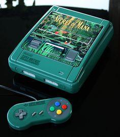 Custom Secret of Mana SNES (PAL) by Zoki64.deviantart.com on @DeviantArt