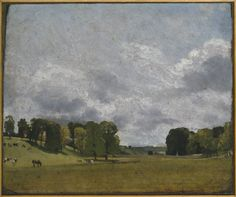 John Constable 'View at Epsom' 1809 Compton Verney