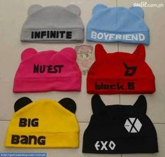 Omo too cute! Can I have the Block B one? And NU'EST and Big Bang too?