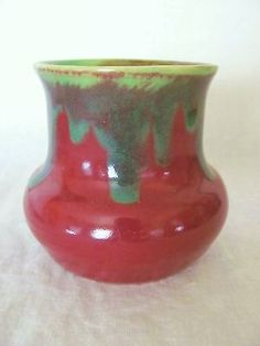 EARLY VINTAGE REMUED AUSTRALIAN POTTERY VASE ~ PAMELA / REMUED CONVERSION in Pottery, Glass | eBay