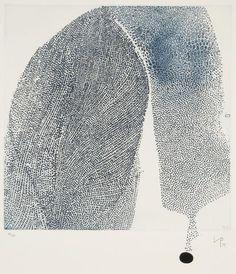 Victor Pasmore Blue Development 1974 etching