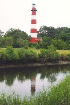 Assateague Lighthouse, Virginia at Lighthousefriends.com