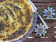 O Bolinho de Sábado: Cheesecake de Maracujá