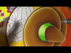 Pintura En Tela Mexicano # 2 Con Cony - YouTube