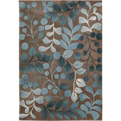 @Overstock - Add a sophisticated splash of color and instant allure to any room with this overscale leaf and branch design. This transitional handcrafted rug features finely hand-carved details for a thrilling tone and texture.http://www.overstock.com/Home-Garden/Hand-tufted-Cosmopolitan-Botanical-Mocha-Rug-5-x-76/6201354/product.html?CID=214117 $206.99