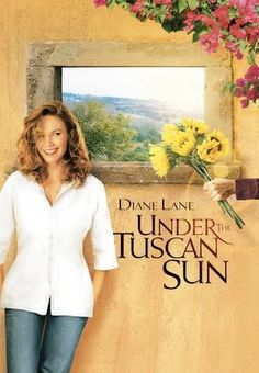 "Under The Tuscan Sun...my favorite movie...ever.  (More #Romance in ""I Still Believe in Love"", a collection of #Romantic #Poetry that reads like a Story and sings like a Song, available at www.jamesagrove.ca)"