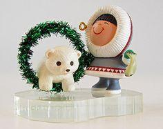 Hallmark Frosty Friends 1994 # 15 Vintage Keepsake Christmas Ornament with Box