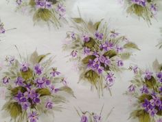 Vintage Gift Wrapping Paper  Purple by TheGOOSEandTheHOUND on Etsy