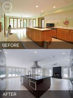 Jeff & Betsy's Kitchen Before & After | Kitchen Remodeling and Kitchens