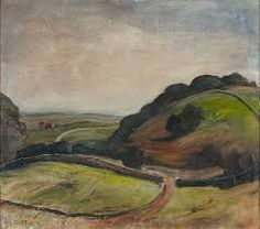 Lloyd Rees Mountain Slopes Near Berry Australian Painting, Australian Artists, Abstract Landscape, Landscape Paintings, Picasso Paintings, Reading Art, Henri Matisse, Art Quotes, Inspiration
