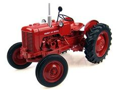 This Valmet 33 Diesel Diecast Model Tractor is Red and features working back linkage, steering, wheels. It is made by Universal Hobbies and is 1:16 scale (approx. 18cm / 7.1in long).  ...