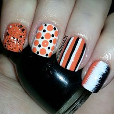Halloween by sadasnails  #nail #nails #nailart