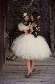 Mommy And Me Tutu Skirt, Matching Tutus, Mommy And Daughter Tutu Skirts, Matching Mom And Daughter Skirts, Mommie And Me Skirts Mom And Baby Outfits, Mommy And Me Dresses, Dresses Kids Girl, Flower Girl Dresses, Tutu Outfits, Outfits Mujer, Tutu Skirt Kids, Kids Tutu, Tutu Skirts
