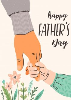 Happy fathers day. man holds the hand of... | Premium Vector #Freepik #vector #poster #flower #hand #father Happy Dad Day, Happy Fathers Day Greetings, Happy Fathers Day Images, Father's Day Greetings, Fathers Day Banner, Fathers Day Poster, Dad Drawing, Fathers Day Wallpapers, Principe William Y Kate
