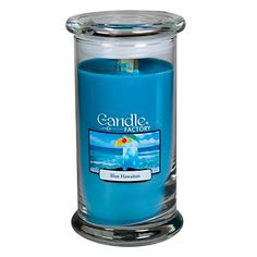The Candle Factory Large 15-Ounce Jar WoodWick Crackling Candle, Blue Hawaiian *** Details can be found by clicking on the image.