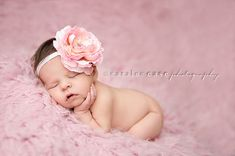 Large Pink Flower Headband  Baby Girl by Pinkpaisleybowtique, $12.95