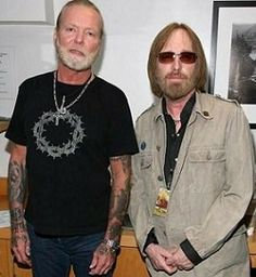 Gregg Allman R.I.P, (The Allman Brothers Band) and Tom Petty (..a d The Heartbreakers).