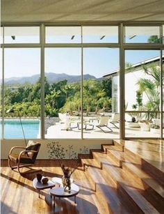 Interior by Oscar Niemeyer