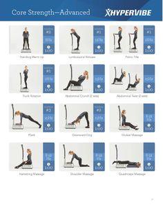 Hypervibe workout WBV #whole #body #vibration #fitness #exercise