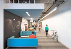 Walls to write on - office design