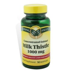 Milk Thistle Vitamins Supports Healthy Liver Function, 90 Softgels by Spring Valley, http://www.amazon.com/gp/product/B0026QKEXY/ref=as_li_tf_tl?ie=UTF8=pintrest04-20=as2=1789=9325=B0026QKEXY
