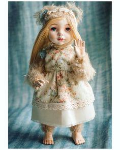 Когда я на неё смотрю вспоминаются сказки #jullitoy #doll #teddydoll #teddy #teddybear #тедди #теддидолл #кукла #куклыручнойработы #интерьернаякукла #теддибрянск #брянск
