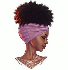More head shots. This was illustrated live on stream. Black Love Art, Black Girl Art, African American Art, African Art, Black Woman Silhouette, Drawings Of Black Girls, J Dilla, Black Art Pictures, Natural Hair Art