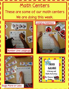 Golden Gang Kindergarten: Math Centers