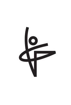 Ballet Logo Concept Designed by Tony Beard / Ballet Dancer Human Form Linear Logo Design Bts Design Graphique, Art Graphique, Corporate Design, Logo Monogramme, Logo Image, Icon Design, Web Design, Logo Luxury, Beard Logo