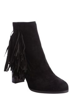 black suede tassel detail 'Jimmynetta 70' boots