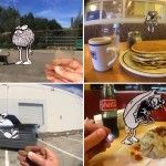 Aug(De)Mented Reality: An Ingenious Fusion of Traditional Cel Animation and iPhone Photography