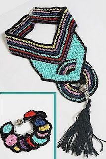 Cassia's Blog: Acessórios em croche