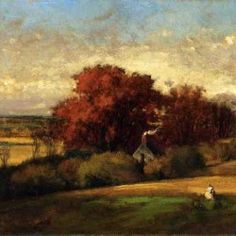 George Inness - The Old Oak